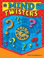 Mind Twisters: Grade 1 (Enhanced eBook)