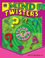 Mind Twisters: Grade 2 (Enhanced eBook)