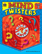 Mind Twisters: Grade 3 (Enhanced eBook)