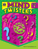 Mind Twisters: Grade 4 (Enhanced eBook)
