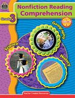Nonfiction Reading Comprehension: Grade 3 (Enhanced eBook)
