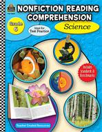 Nonfiction Reading Comprehension: Science: Grade 6 (Enhanced eBook)