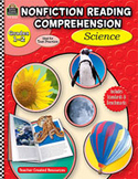 Nonfiction Reading Comprehension: Science: Grades 1-2 (Enhanced eBook)