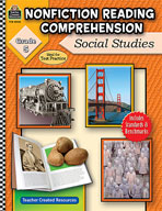 Nonfiction Reading Comprehension: Social Studies: Grade 5 (Enhanced eBook)