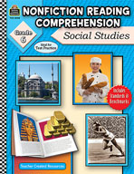 Nonfiction Reading Comprehension: Social Studies: Grade 6 (Enhanced eBook)