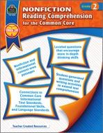 Nonfiction Reading Comprehension for the Common Core Grade 2 (Enhanced eBook)