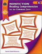 Nonfiction Reading Comprehension for the Common Core Grade 4 (eBook)