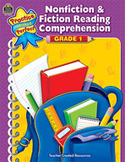 Nonfiction and Fiction Reading Comprehension Grade 1 (Enhanced eBook)