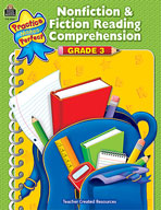 Nonfiction and Fiction Reading Comprehension Grade 3 (Enhanced eBook)