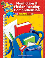 Nonfiction and Fiction Reading Comprehension Grade 4 (Enhanced eBook)