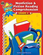 Nonfiction and Fiction Reading Comprehension Grade 4 (Enhanced eBook)