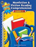 Nonfiction and Fiction Reading Comprehension Grade 5 (Enhanced eBook)