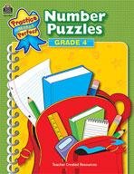 Number Puzzles: Grade 4 (Enhanced eBook)