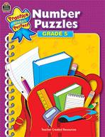 Number Puzzles: Grade 5 (Enhanced eBook)