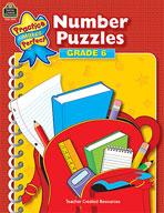 Number Puzzles: Grade 6 (Enhanced eBook)