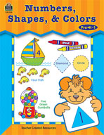 Numbers, Shapes, & Colors