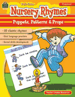 Nursery Rhymes: Puppets, Patterns and Props (Enhanced eBook)