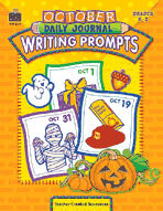 October Daily Journal Writing Prompts