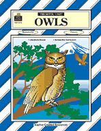Owls Thematic Unit (Enhanced eBook)