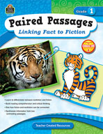Paired Passages: Linking Fact to Fiction: Grade 1 (Enhanced eBook)