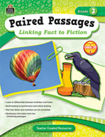 Paired Passages: Linking Fact to Fiction: Grade 3 (Enhanced eBook)