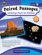 Paired Passages: Linking Fact to Fiction: Grade 4 (Enhanced eBook)