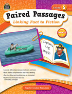 Paired Passages: Linking Fact to Fiction: Grade 5 (Enhanced eBook)