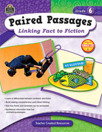 Paired Passages: Linking Fact to Fiction: Grade 6 (Enhanced eBook)