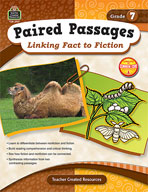 Paired Passages: Linking Fact to Fiction: Grade 7 (Enhanced eBook)