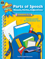 Parts of Speech: Grades 2-3 (Enhanced eBook)