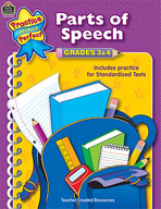 Parts of Speech: Grades 3-4 (Enhanced eBook)