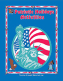 Patriotic Holidays Activities