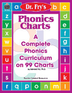 Phonics Charts by Dr. Fry (Enhanced eBook)