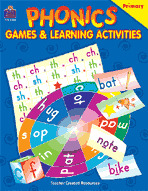 Phonics: Games and Learning Activities (Enhanced eBook)