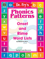 Phonics Patterns by Dr. Fry