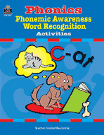 Phonics, Phonemic Awareness, and Word Recognition Activities