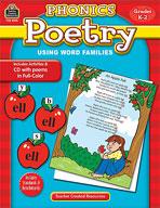 Phonics Poetry Using Word Families (Enhanced eBook)