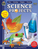 Plan-Develop-Display-Present Science Projects (Enhanced eBook)