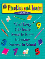 Practice and Learn: 4th: Grade (Enhanced eBook)