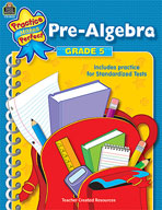Pre-Algebra Grade 5 (Enhanced eBook)