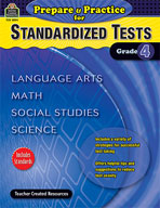 Prepare & Practice for Standardized Tests Grd 4
