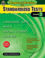 Prepare and Practice for Standardized Tests: Grade 2 (Enhanced eBook)