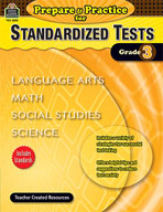 Prepare and Practice for Standardized Tests: Grade 3 (Enhanced eBook)