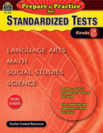 Prepare and Practice for Standardized Tests: Grade 5 (Enhanced eBook)