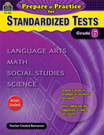 Prepare and Practice for Standardized Tests: Grade 6 (Enhanced eBook)