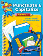 Punctuate and Capitalize: Grade 2 (Enhanced eBook)