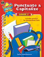 Punctuate and Capitalize: Grade 3 (Enhanced eBook)