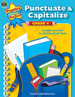 Punctuate and Capitalize: Grade 4 (Enhanced eBook)