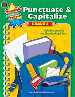 Punctuate and Capitalize: Grade 5 (Enhanced eBook)