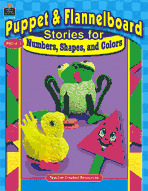 Puppet and Flannelboard Stories for Numbers, Shapes, and Colors (Enhanced eBook)